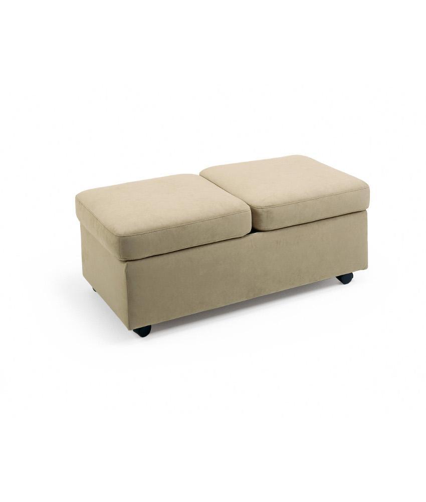 ekornes double ottoman w wooden table top forma furniture. Black Bedroom Furniture Sets. Home Design Ideas