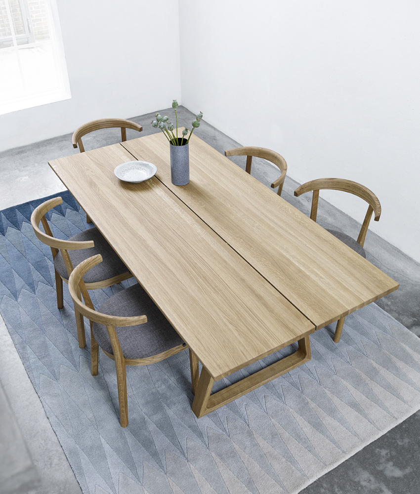 Skovby Sm 105 Plank Dining Table