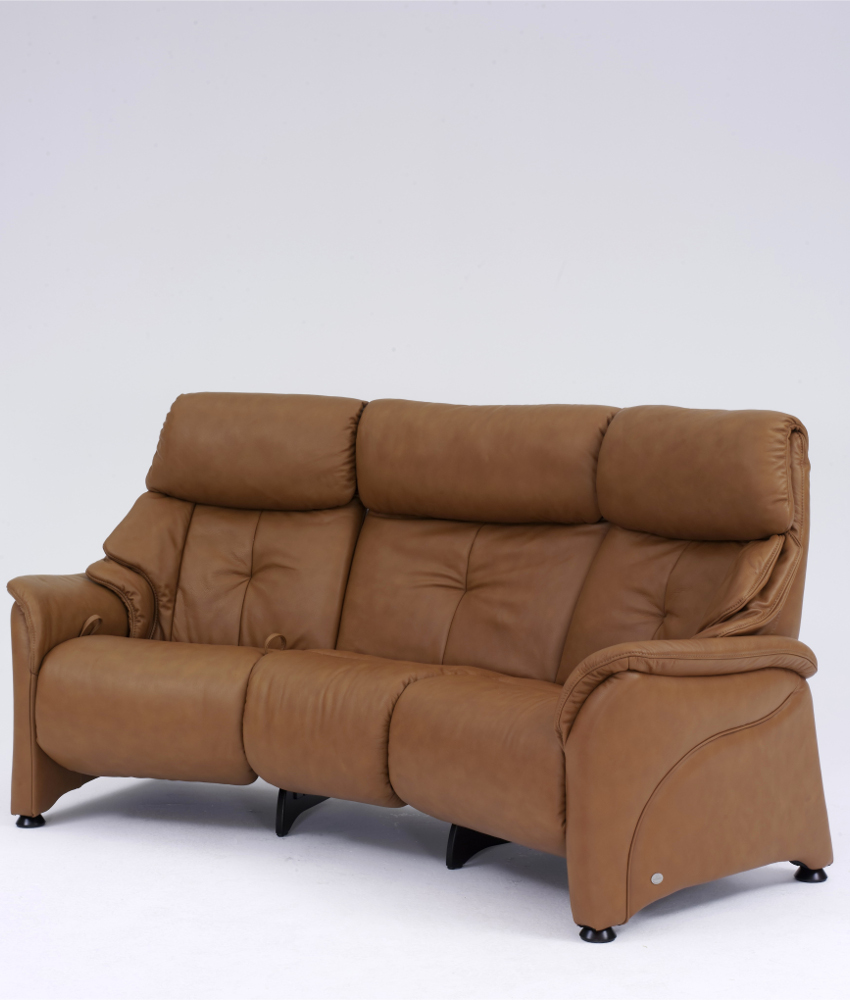 Astounding Himolla Chester 3 Seat Curved Sofa W 3 Recliners Caraccident5 Cool Chair Designs And Ideas Caraccident5Info