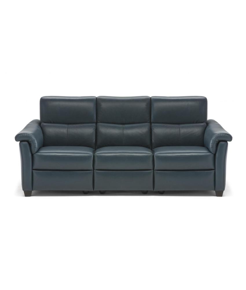 Super Natuzzi C068 Three Seat Sofa W Recliner Lumbar Support Astuzia Alphanode Cool Chair Designs And Ideas Alphanodeonline