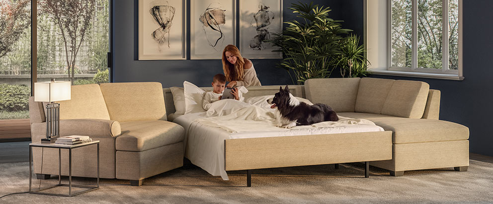 American Leather And Luonto Leaders In Sleeper Sofas