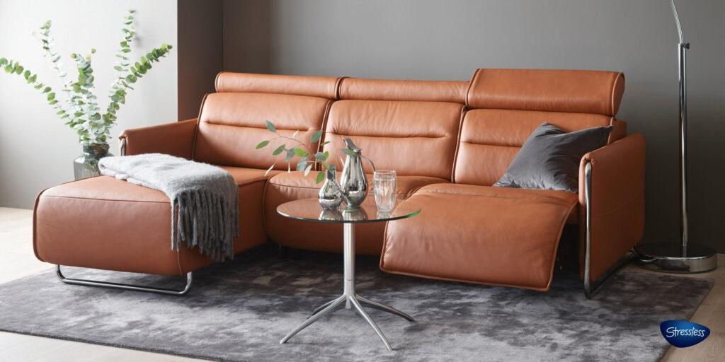 Stressless Leather Sofa