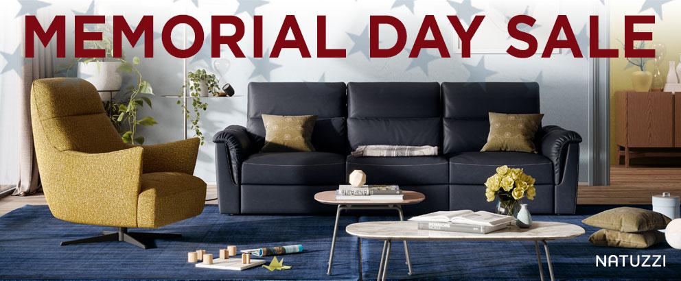 Natuzzi Memorial Day Sale