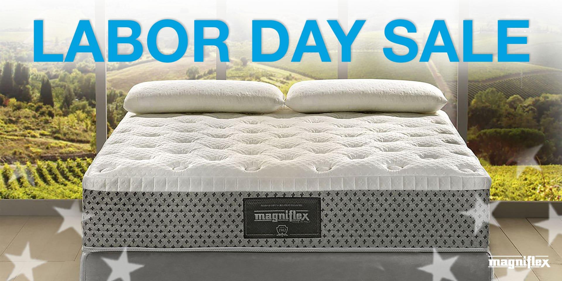 Magniflex Labor Day Sale