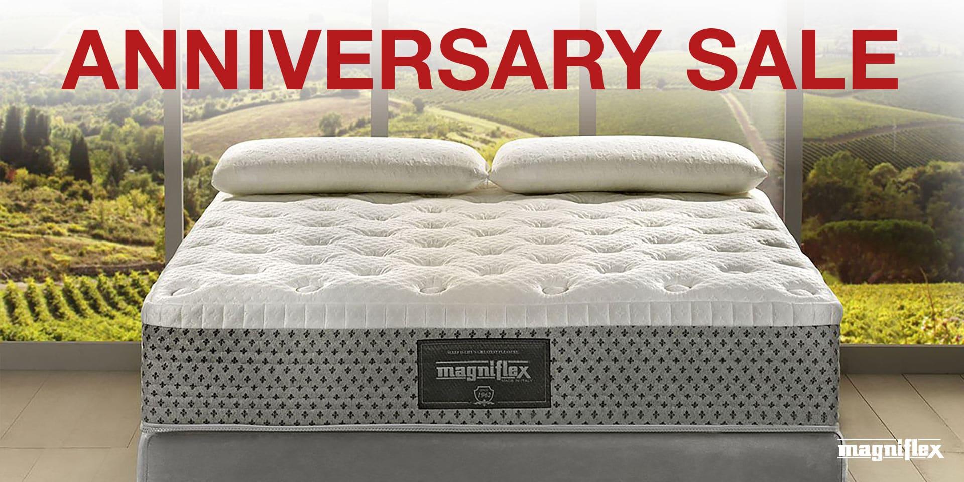 Anniversary Magniflex Sale
